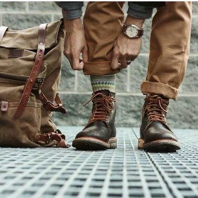 夫はフリーの靴磨き職人です。笑♡の記事に添付されている画像