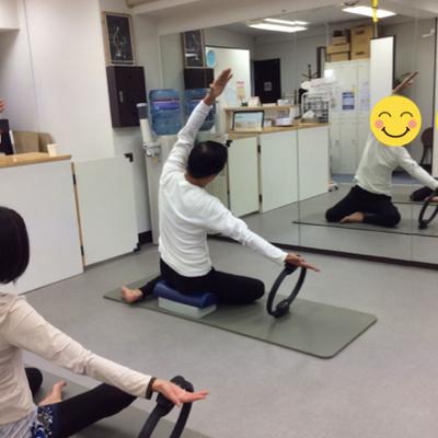 ピラティスグループレッスンで動ける身体への記事に添付されている画像