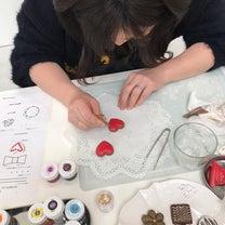 ☆バレンタインアイシングクッキーレッスンレポ☆の記事に添付されている画像