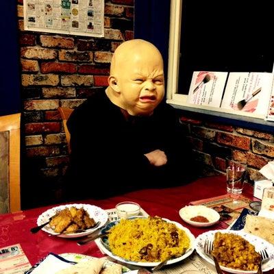 パクカレーレストラン■一昨日の晩メシ■さと芋のカレー&マトンビリヤニ■Pak Cの記事に添付されている画像