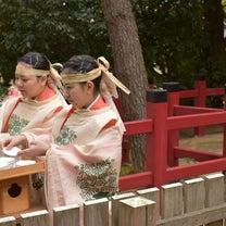 元伊勢の檜原神社の宮内庁秘伝の巫女舞への記事に添付されている画像
