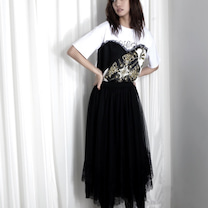 イレギュラーヘムチュールスカート(COOLA先行予約2019SS②)の記事に添付されている画像