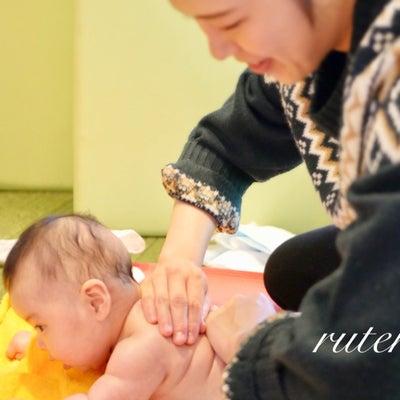 《ベビーマッサージ》ママの手は魔法の手^^の記事に添付されている画像