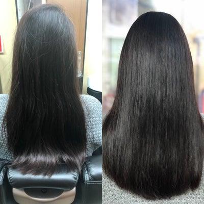髪質改善カラーでニッコニコ~の記事に添付されている画像