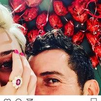祝!オーランドブルームとケイティペリーがバレンタインに婚約!の記事に添付されている画像