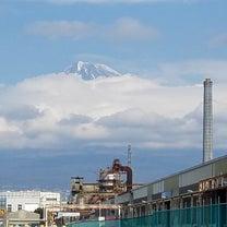 一瞬頭を出してくれた富士山の記事に添付されている画像