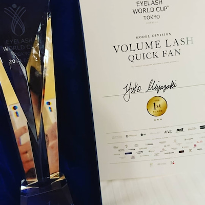 ☆Eyelash world cup☆の記事に添付されている画像