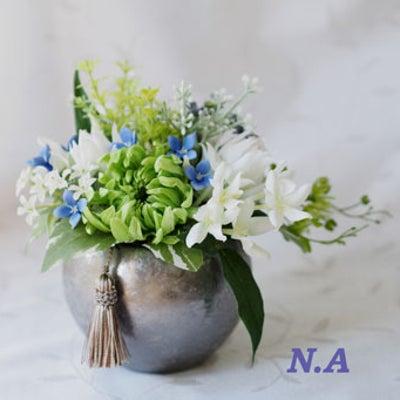 ◆プリザとアートの仏花◆の記事に添付されている画像