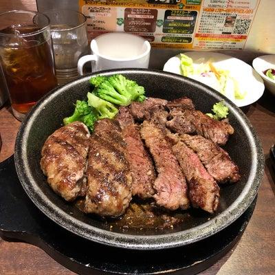 いきなりステーキと超低糖質なとりからの記事に添付されている画像