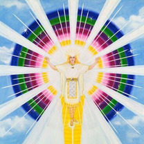 「新しいステージのゲート」キラキラの光の道が開き自分が望む本来の自分に戻る時が来の記事に添付されている画像