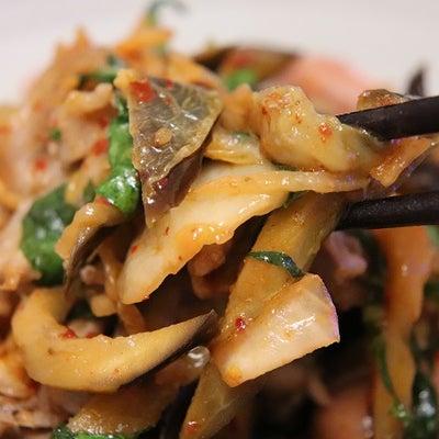 ★ ナス豚キムチ&もんごう酢イカの記事に添付されている画像
