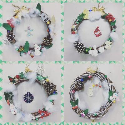 12月のカリキュラムは、クリスマスリースを制作しました!の記事に添付されている画像