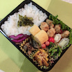 あきちゃんちの ラララ♪お弁当♪あるもの 詰め込んだ ☆鶏むね肉の豆腐ナゲット弁当編
