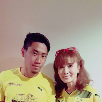【ルミ子の勝手にサッカー学33】~香川選手⚽️‼️の記事に添付されている画像