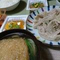 #今夜の夕食の画像