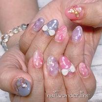 春のディズニーネイル♡の記事に添付されている画像