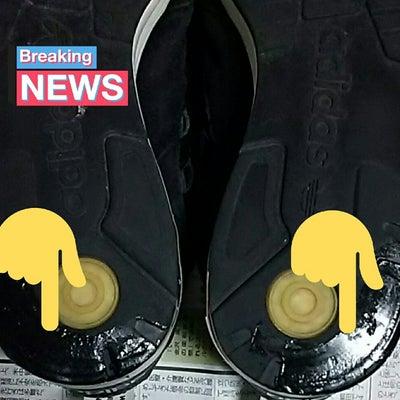 スニーカーの靴底を、、の記事に添付されている画像