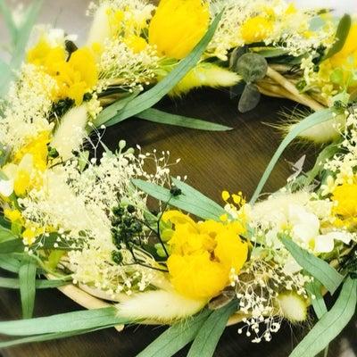 チューリップのプリザーブドフラワー加工で春のリースの記事に添付されている画像