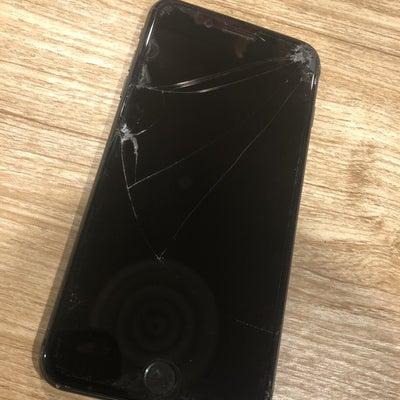 割れてタッチできなくなったiPhone8Plus・・・画面交換で無事使えるようにの記事に添付されている画像