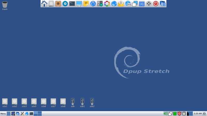 UEFI 起動のできる PuppyLinux を USB へ焼き、レスキューツール