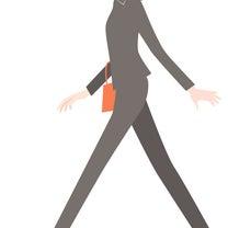 美しく歩くコツ 下肢偏の記事に添付されている画像
