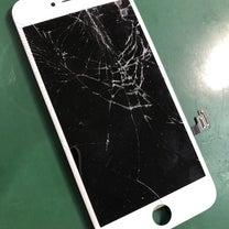 電源は入っているのに画面が映らない!iPhone8の画面割れ修理。船橋市よりの記事に添付されている画像