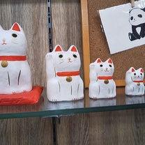 上野土産 小物 はりこーシカ 招き猫の記事に添付されている画像