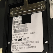 SSDにクローンするの記事に添付されている画像