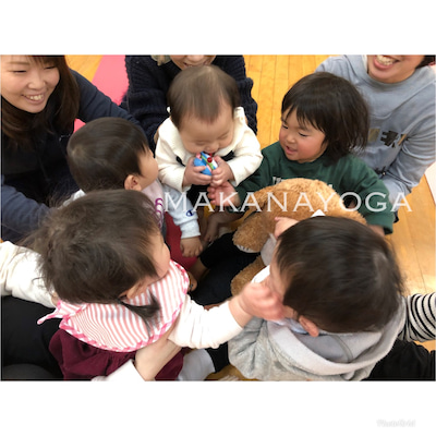 【レポート】2/14 ママヨガクラスの記事に添付されている画像