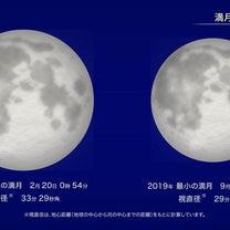 2月20日スーパームーン満月の記事に添付されている画像
