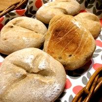 天然酵母のライ麦入りリュスティックの記事に添付されている画像