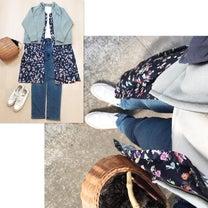 【URBAN RESERCH DOORS】花柄ワンピで春を意識したコーデ☆【しまの記事に添付されている画像
