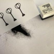 【おひなさま作り】使ったインクは1つだけの記事に添付されている画像