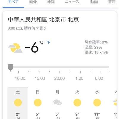 中国北京の記事に添付されている画像