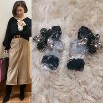 親子リンクコーデ&ハンドメイドアクセサリーlim☆着画の記事に添付されている画像