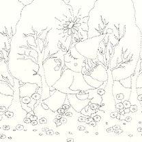 雫から産まれた花の記事に添付されている画像
