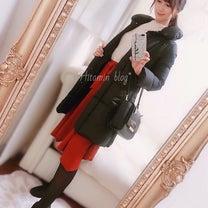 coordinate♡着回しアプのダウン♡kate spadeバッグ♡の記事に添付されている画像