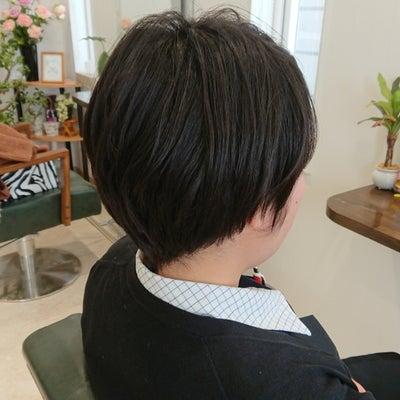 40代の若見えショートヘアの記事に添付されている画像