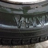大阪府高槻市 タイヤ交換 亀裂 スペアタイヤの記事に添付されている画像