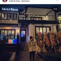 ヒョンジュンのカフェSAINTRAIN GRAND OPENの記事に添付されている画像