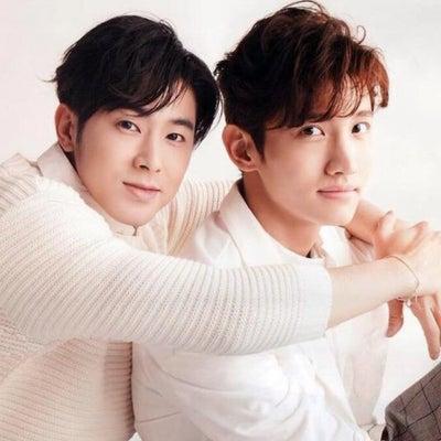そのまんまのユノとストイックなチャンミンの記事に添付されている画像