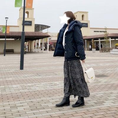 【UNIQLO】買って本当に良かったUNIQLOアイテムで雪が舞う日のコーデの記事に添付されている画像