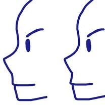横顔のパーツと、鼻とあごをつなぐラインの記事に添付されている画像