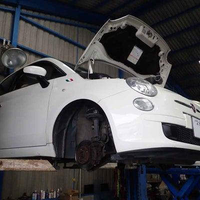 車検整備-フィアット500(31212)足回りから異音&冷却水漏れも修理の記事に添付されている画像