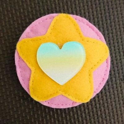ダイソー商品で☆スタプリ衣装1~胸のマーク~の記事に添付されている画像
