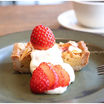 いちごをWで味わえるタルト♪ 移転したcafe634での記事に添付されている画像
