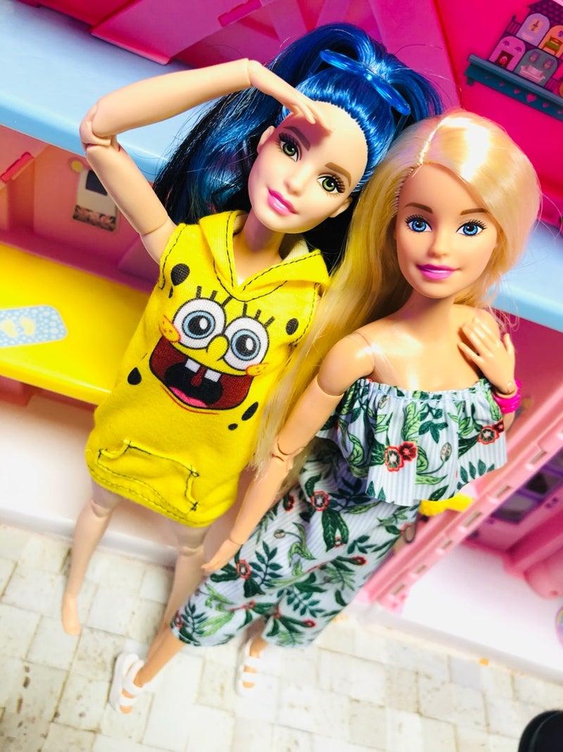 バービーキュートにポーズ色々 ヤバッ玩具人形中毒者の世界