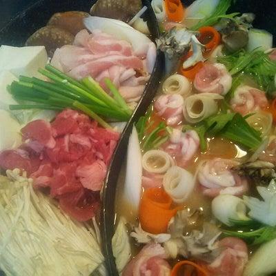 ツイン鍋で夕食の記事に添付されている画像