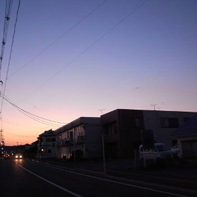 今日の朝ラン  スキマから日の出と河津桜はまだの記事に添付されている画像