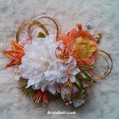 桜・松竹・ピオニーの和装髪飾りの記事に添付されている画像